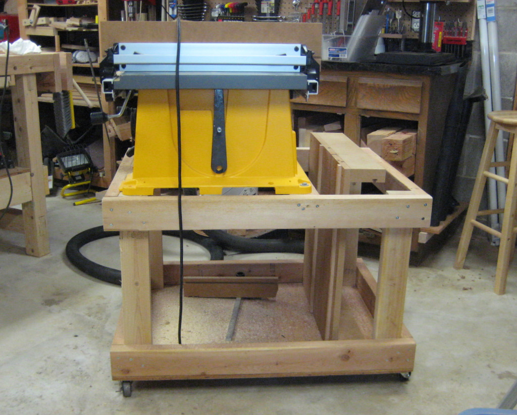 Planning A New Table Saw Cart Ben 39 S Workshop