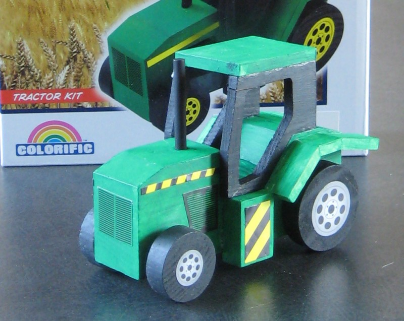 Building A Kit Tractor